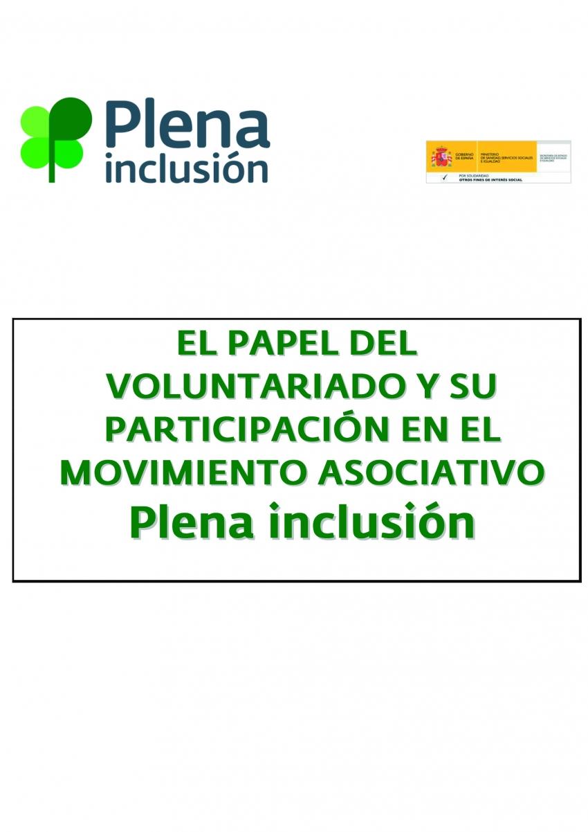 El papel del voluntariado y su participación en el movimiento asociativo FEAPS