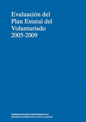 Evaluación del Plan Estatal del Voluntariado 2005-2009