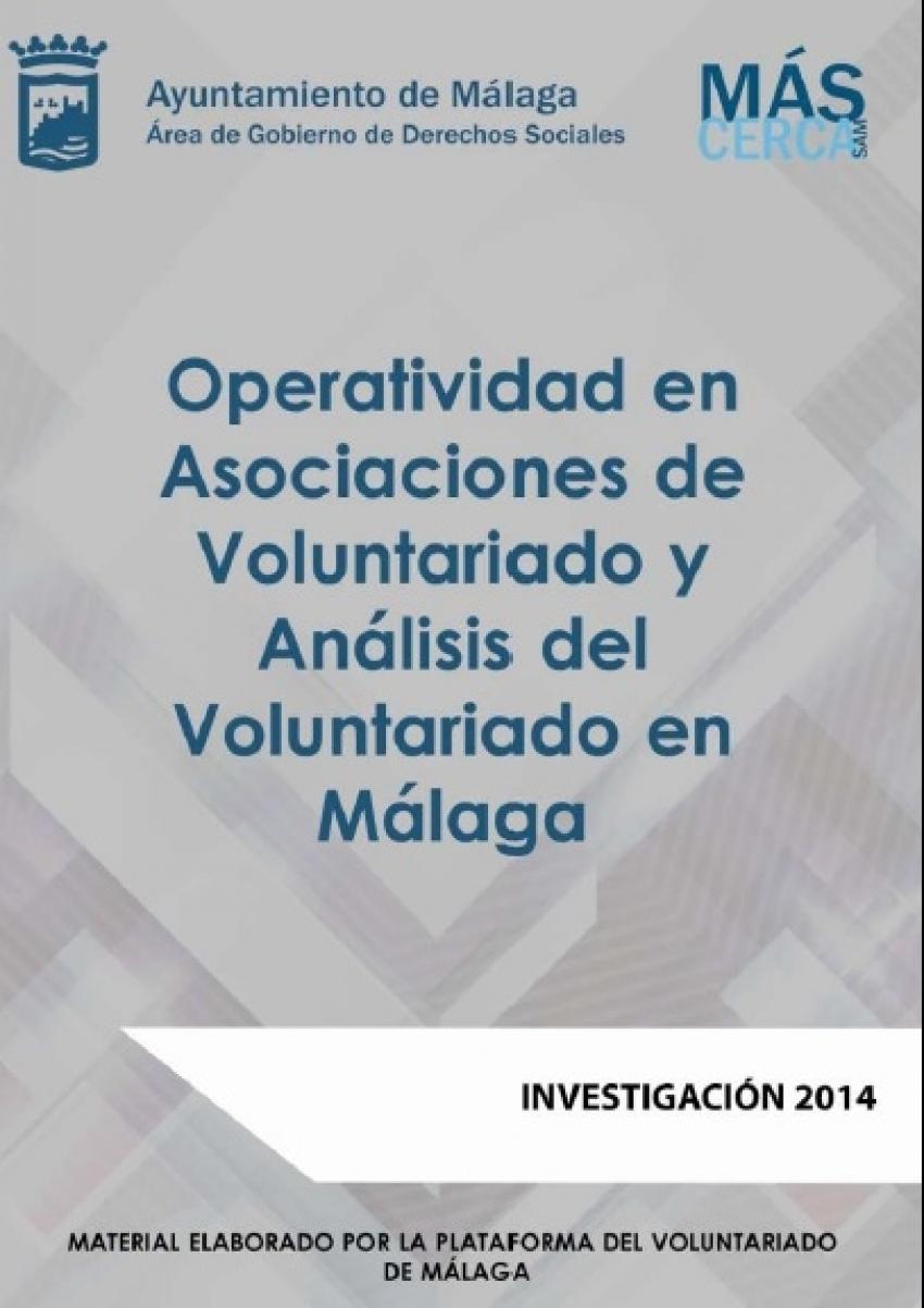 Operatividad en asociaciones de voluntariado y análisis del voluntariado de Málaga