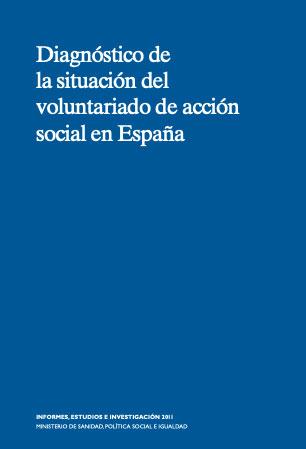 Diagnóstico de la situación del voluntariado de acción social en España