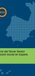 Anuario del Tercer Sector de Acción Social en España