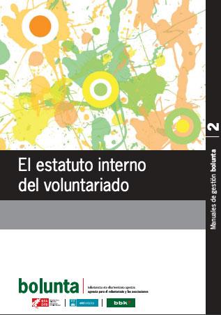 El estatuto interno del voluntariado