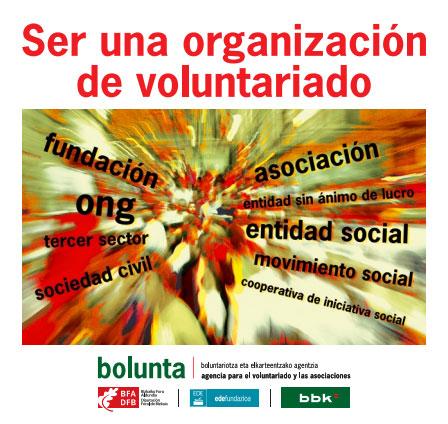 Ser una organización del voluntariado