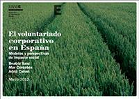 El voluntariado corporativo en España. Modelos y perspectivas de impacto social