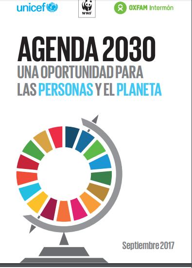 Agenda 2030: una oportunidad para las personas y el planeta