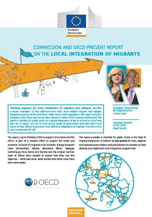 Comisión e Informe actual de la OCDE sobre la integración local de migrantes