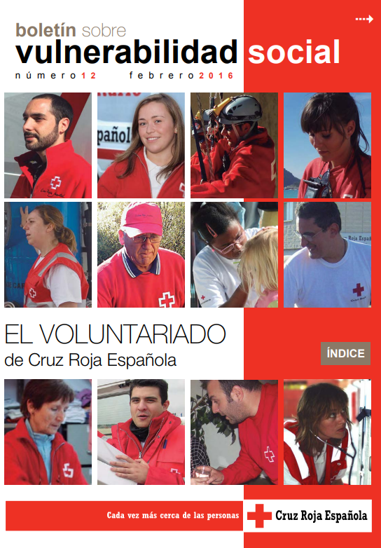 El Voluntariado de Cruz Roja