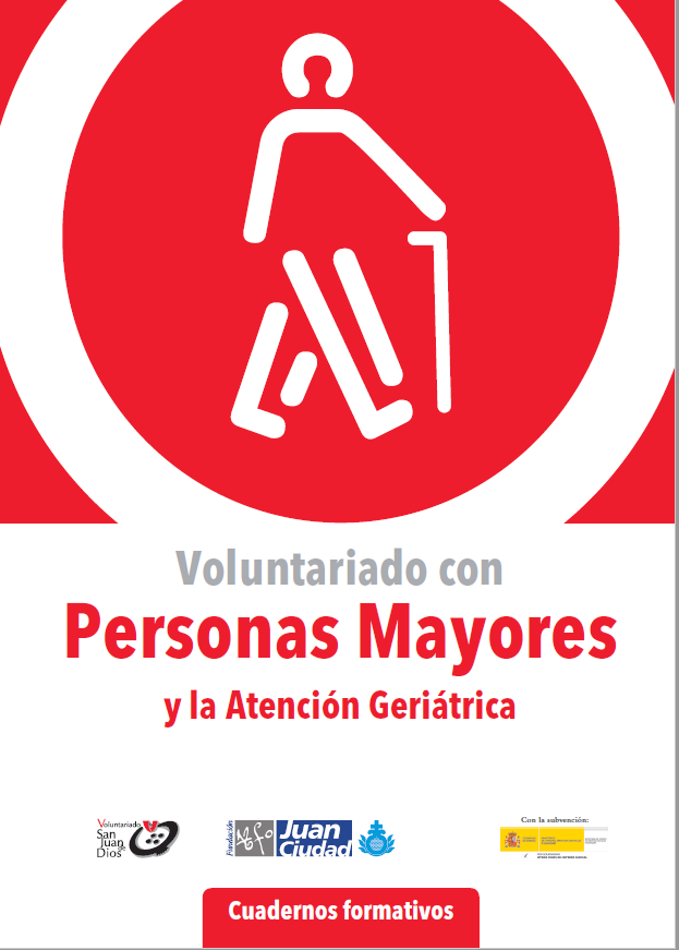 Voluntariado Cuadernos formativos Personas Mayores y la Atención Geriátrica