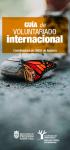 Guía de Voluntariado Internacional