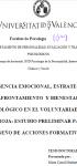 Inteligencia emocional, estrategias de afrontamiento y bienestar psicológico en el  Voluntariado de Cruz Roja: estudio preliminar para el diseño de acciones formativas