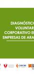 Diagnóstico del Voluntariado Corporativo en las Empresas de Aragón