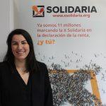 """""""Si cada contribuyente marcase la X Solidaria se recadarían más de 500 millones"""""""