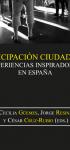 Participación ciudadana: experiencias inspiradoras en España