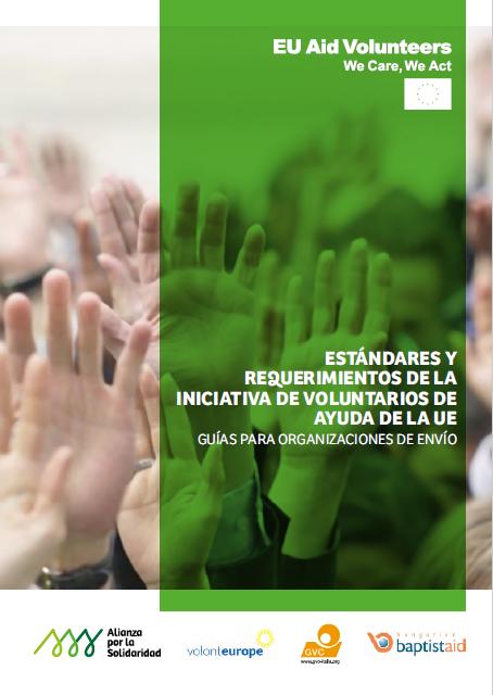 Estándares y requerimientos de la iniciativa de voluntarios de ayuda de la UE: guía para organizaciones de envío