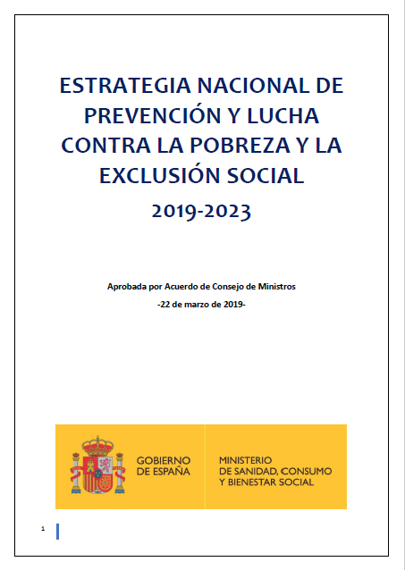 Estrategia Nacional de Prevención y Lucha contra la Pobreza (2019-2023)