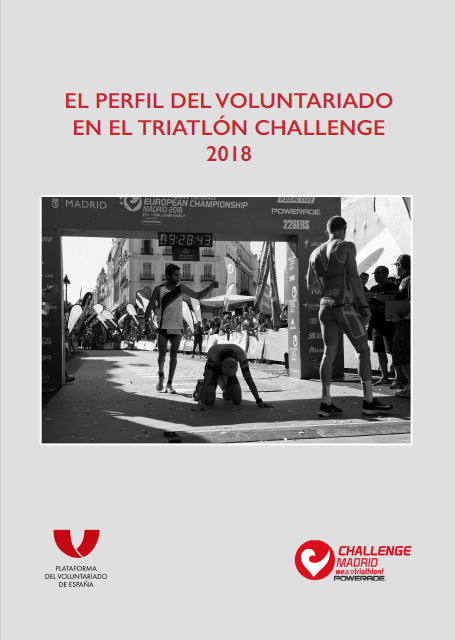 El perfil del Voluntariado en el Triatlón Challenge 2018