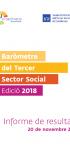 Baròmetre del Tercer Sector Social Edició 2018