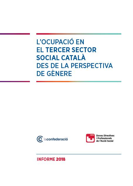 L´ocupació en el Tercer Sector Social Catalá des de la perspectiva de génere