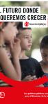 El futuro donde queremos crecer: Las políticas públicas esenciales para el bienestar de la infancia