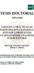 Espacios y Prácticas de Participación Ciudadana: Análisis y Propuestas Educativas desde un Enfoque Intercultural