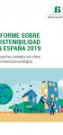 Informe sobre Sostenibilidad en España 2019: Por qué las ciudades son clave en la transición ecológica