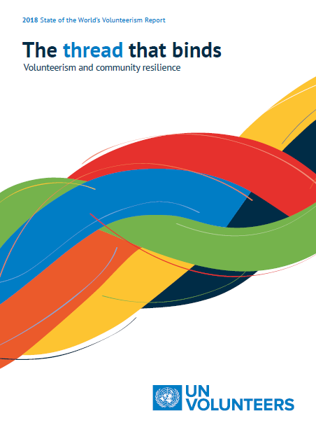 The thread that binds: Volunteerism and community resilience