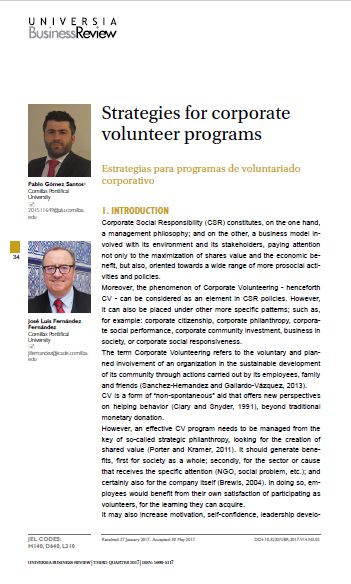 Strategies for corporate volunteer programs