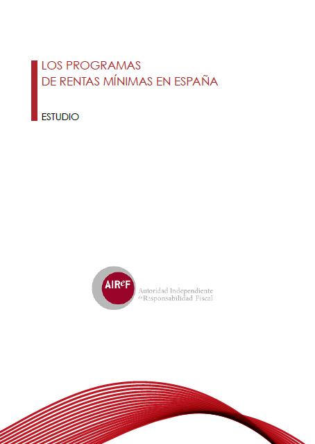 Los Programas de Rentas Mínimas en España