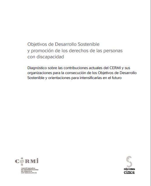 Objetivos de Desarrollo Sostenible y promoción de los derechos de las personas con discapacidad