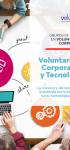 Voluntariado Corporativo y Tecnología