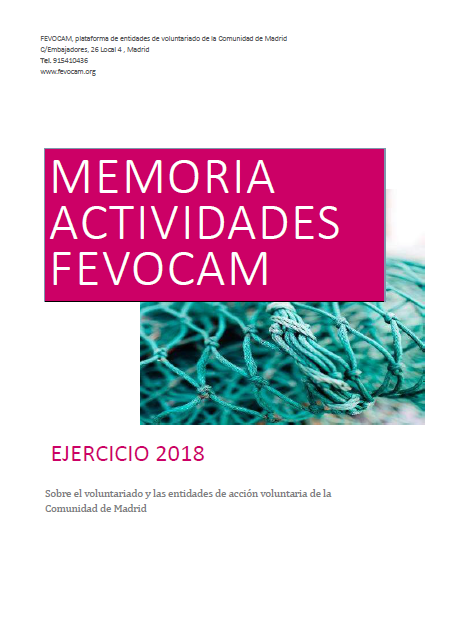 Memoria de Actividades FEVOCAM 2018