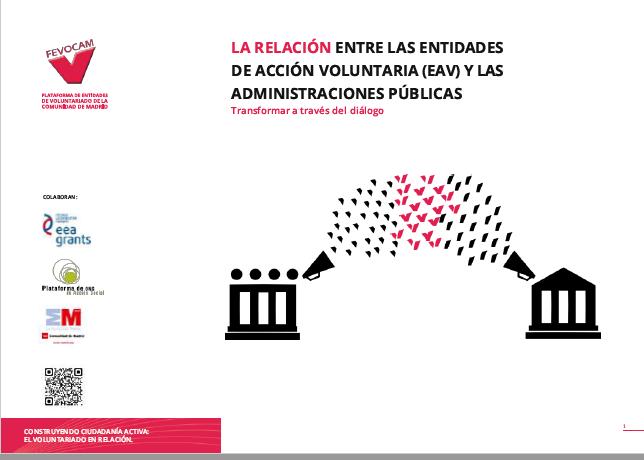 La Relación entre las Entidades de Acción Voluntaria (EAV) y las Administraciones Públicas