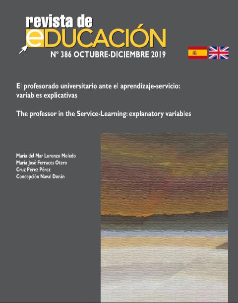 El profesorado universitario ante el aprendizaje-servicio: variables explicativas