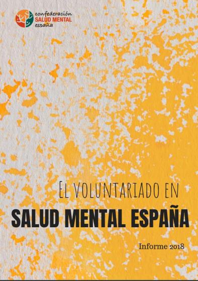 El Voluntariado en la Salud Mental en España: Informe 2018