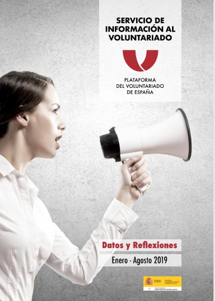 Servicio de Información al Voluntariado: Datos y reflexiones (enero-junio 2019)