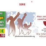 El cupón de la ONCE apoya el Día Internacional del Voluntariado