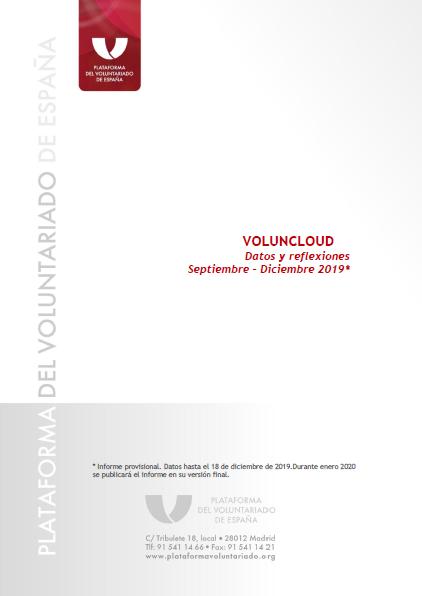 Voluncloud: Datos y Reflexiones (septiembre-diciembre 2019)