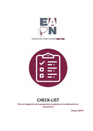 Check-list para la integración de la perspectiva de género en la elaboración de documentos