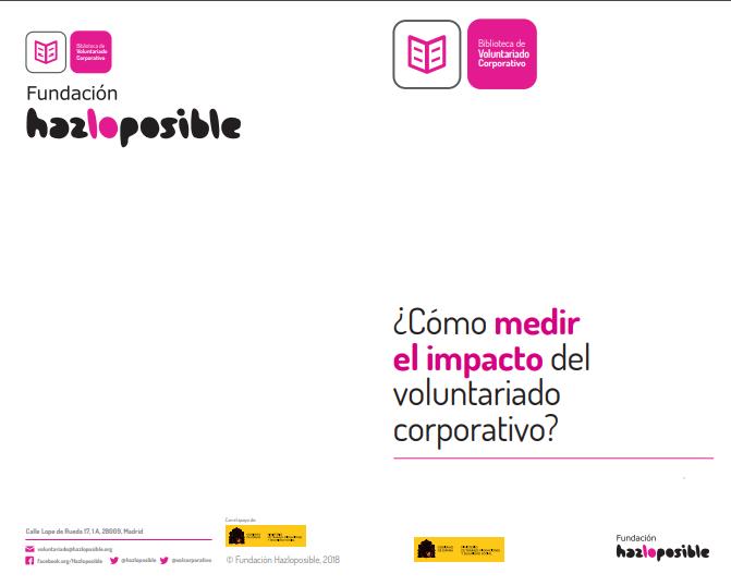 ¿Cómo medir el impacto del Voluntariado Corporativo?