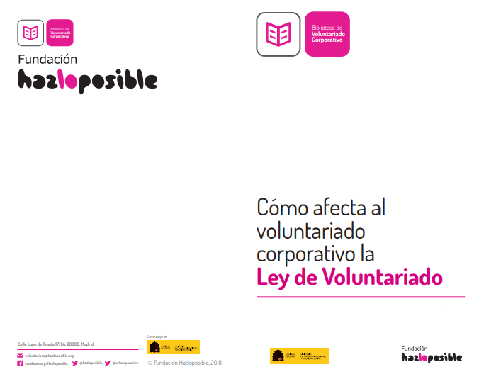 Cómo afecta al voluntariado corporativo la Ley de Voluntariado