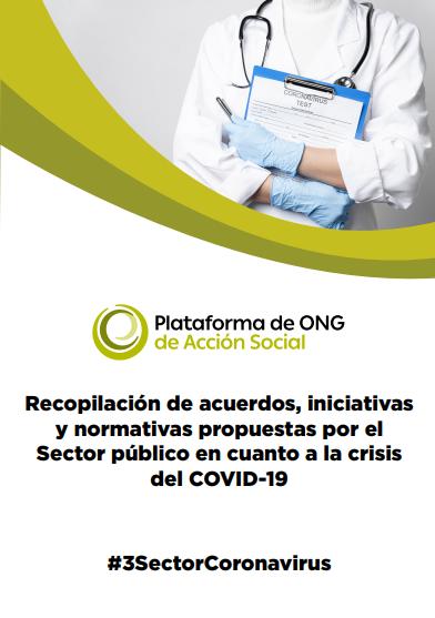 Recopilación de acuerdos, iniciativas y normativas propuestas por el Sector público en cuanto a la crisis del COVID-19