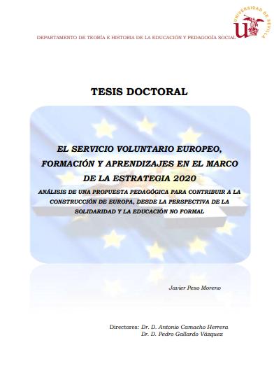 El Servicio Voluntario Europeo: Formación y aprendizajes en el marco de la Estrategia 2020