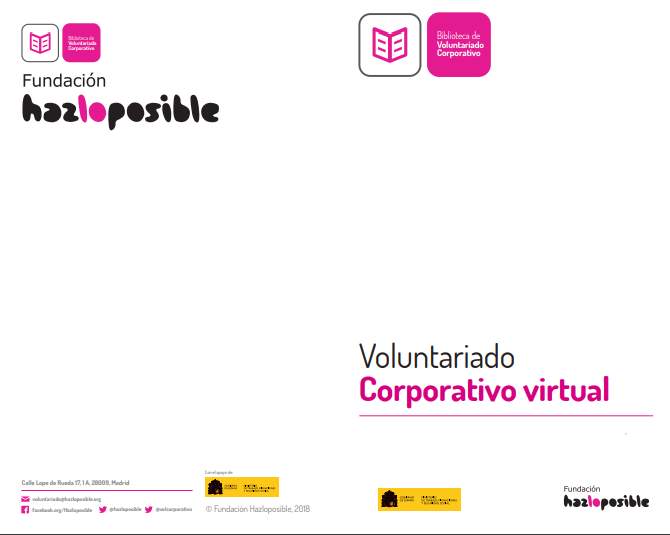 Voluntariado Corporativo virtual