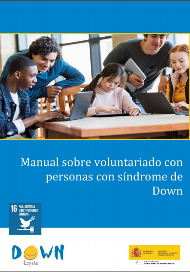 Manual sobre Voluntariado para personas con Síndrome de Down