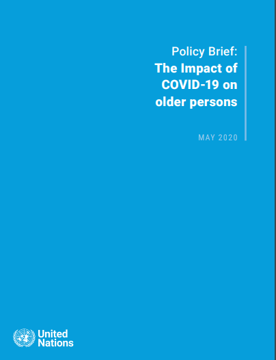 The Impact of COVID-19 on older persons