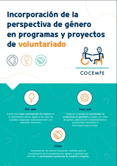 Incorporación de la Perspectiva de Género en Programas y Proyectos de Voluntariado