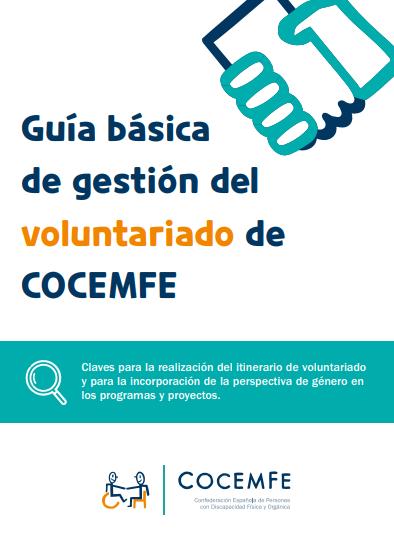 Guía básica de gestión del Voluntariado de COCEMFE