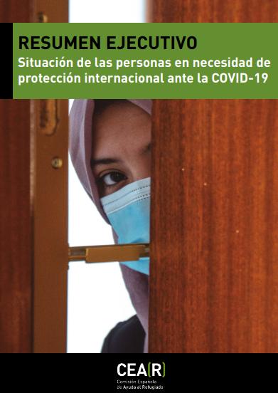 Situación de las personas en necesidad de protección internacional ante la COVID-19