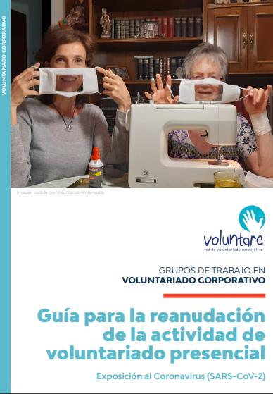 Guía para la reanudación de la actividad de voluntariado presencial: Exposición al Coronavirus (SARS-CoV-2)