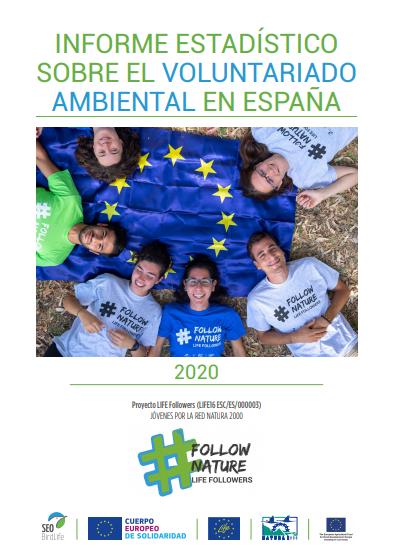 Informe Estadístico sobre el Voluntariado Ambiental en España